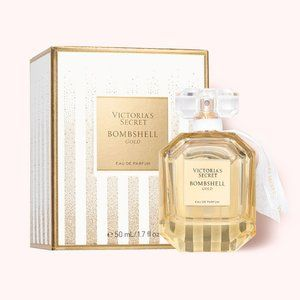 Victoria's Secret Bombshell Gold NIB -Ltd. Edition